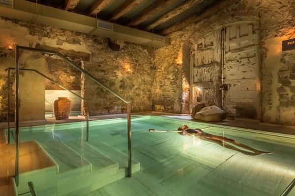 Modelo Mas Salagros Eco Resort Amp Aire antiguos baños Imagelinkaire Vallromanes Mas Salagros flotárium
