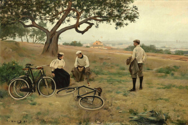 Ramon Casas The Rest Of Cyclists 2x