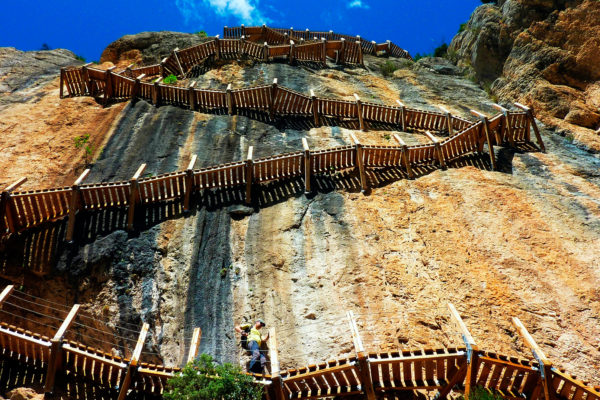 Mont Rebei Unsendero Spectacular