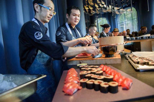 Tunateca Barra De Sushi Inauguración 2 1050× 701