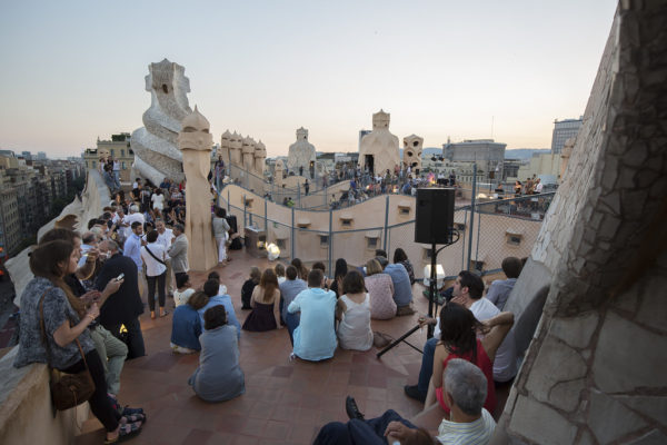 "Concerts on the terrace of the house of Gaudi ""La Pedrera"""