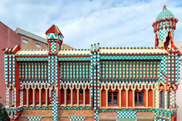 Дом Гауди Casa Vicens