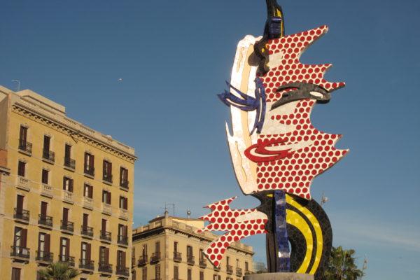 002 Cap De Barcelona, Roy Lichtenstein