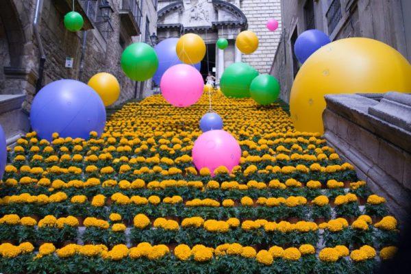 Цветочный фестиваль в Жироне