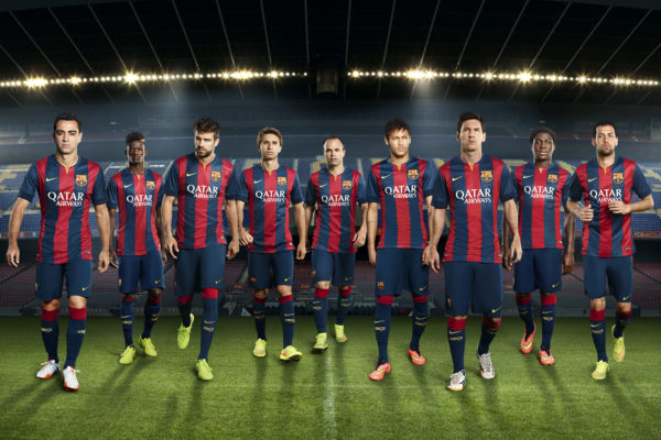 FC Barcelona Football Club Team9628514215