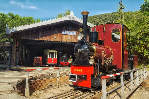 La Oreneta Steam Locomotive Park