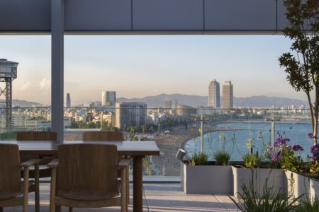 Restaurants with views of Barcelona