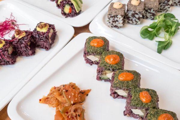 Vegan sushi Roots & Rolls