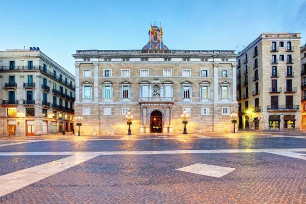 Dvorets Pravitelstva Katalonii V Barselone1