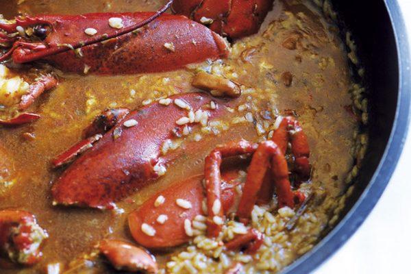 Lobster Paella Barcelona