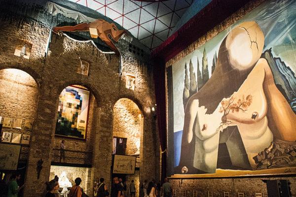Figueres Costa Brava Dali Museum Nachts21