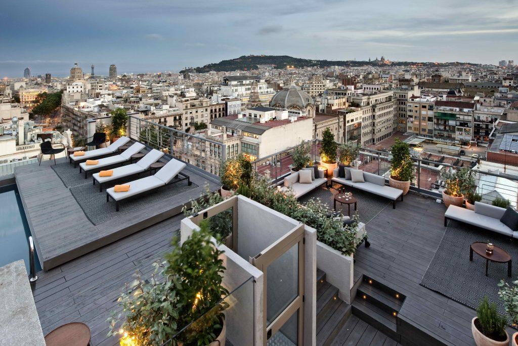 Terrace Hotel Calderon барселона путеводитель Happyinspain