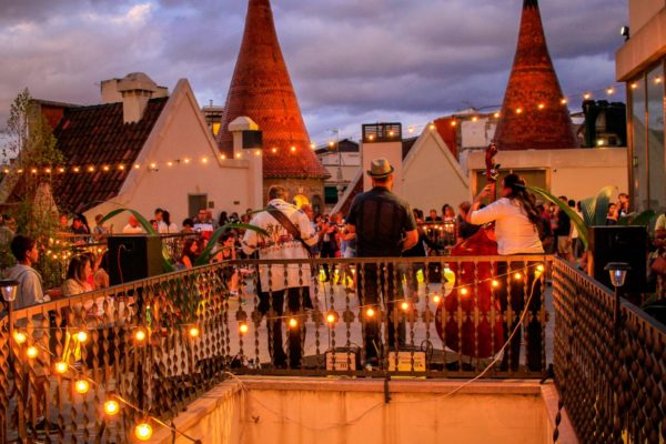 Concerts on the terrace of Casa De Les Punxes