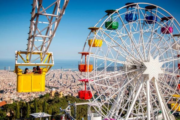 Amusement Park at Tibidabo