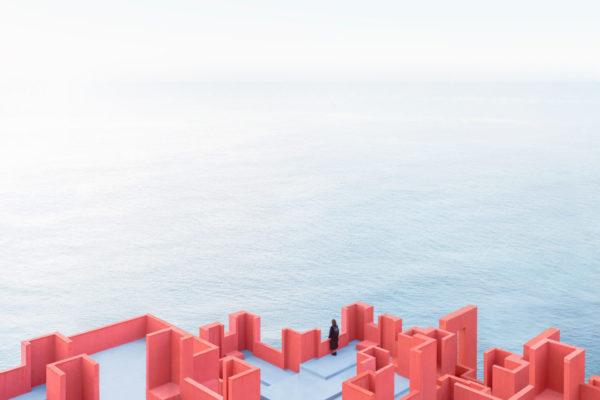 Daniel Rueda Red Wall Ricardo Bofill Taller De Arquitectura 1440 × 1440